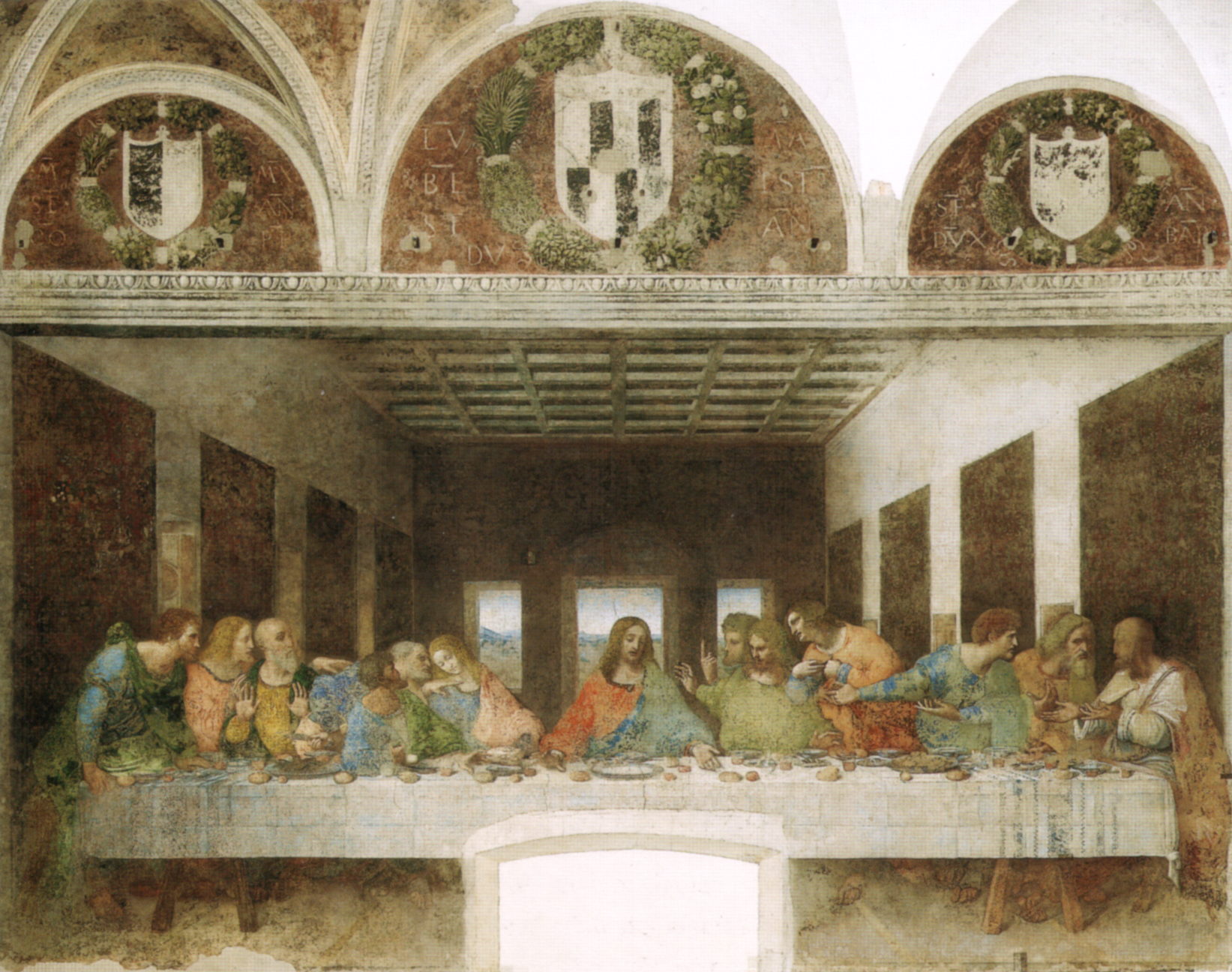 Leonardo,_ultima_cena_(restored)_01